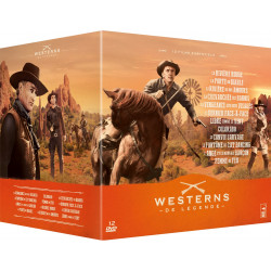 COFFRET 12 FILMS WESTERNS...